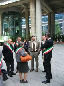 In regione con i sindaci di Agrate, Vimercate, Ornago e gli assessori di Pessano e Carugate