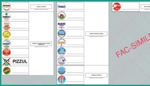 Modello scheda elettorale