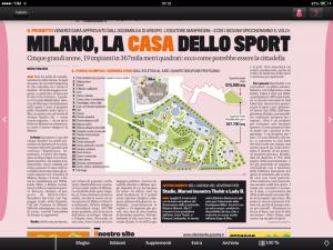 area expo cittadella sport Gazzetta 20 nov 2013