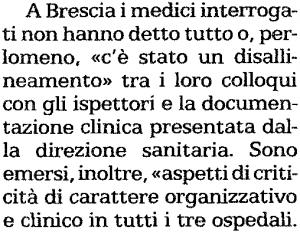 ispezione maternità Brescia