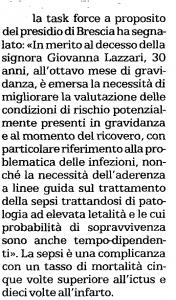 ispezione maternità Brescia bis