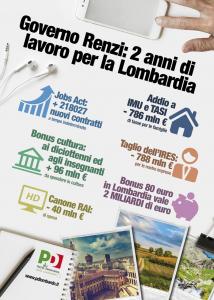 2 anni governo Renzi per la Lombardia
