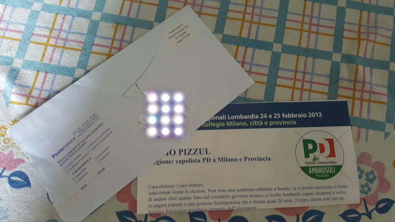 lettera elettorale#